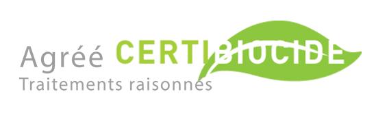Agréé Certibiocide traitements raisonnés
